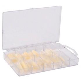 Nail Tips 100 con Nail BOX