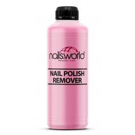 Nail Polish Remover Pink (Scented)